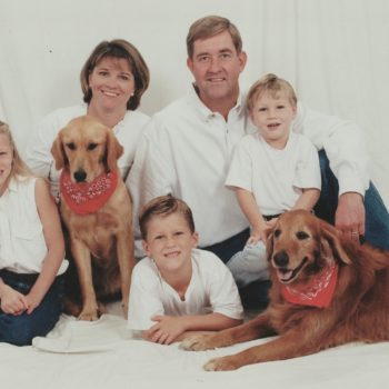 John & Tammy Fredrickson, Realtors, with children